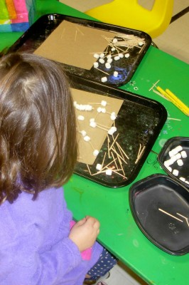 Constructing with Marshmallows